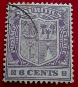 Mauritius: 1921 -1922 Coat of Arms - New Watermark. Rare & Collectible Stamp.
