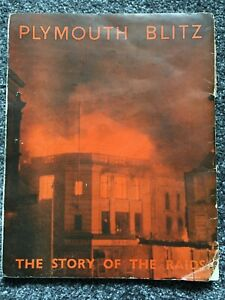 1947 Plymouth Blitz The Story of the Raids, paperback, H.P. Twyford