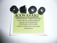 KAWASAKI KH400 TRIPLE MODELS CLOCK MOUNTING RUBBERS X 4,PART NO 92075-080