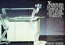 PUBLICITE ADVERTISING 0217  1984  Rank Xerox (2pag)  le copieur  1055