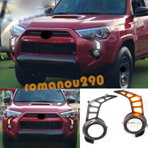 For Toyota 4Runner 2014-2020 SR5/TRD LED Driving Lights/ Turn Signal Lights 2pcs