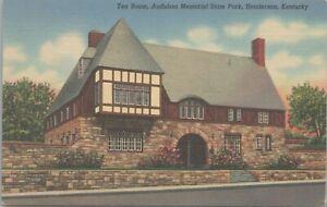 Tea Room Audubon Memorial State Park Henderson Kentucky 1940 Postcard - Unposted