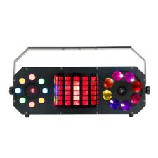 New American DJ Boombox FX2 DEL disco effet 4in1 Lumière Adj Laser Derby Gobo