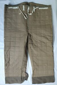 Original WW2 German Quilted Wehrmacht Winter Parka Pants Lining (Unissued)