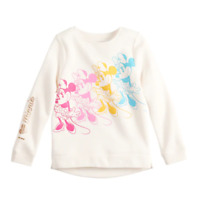 Disney's Minnie Mouse Girls Graphic Fleece Sweatshirt by Jumping Beans, Size 4