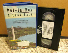 PUT-IN-BAY documentary South Bass Island LOOK BACK Ohio history VHS travel video