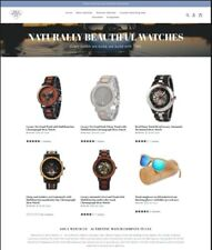 Website Online Business Watch Fashion Biz With Domain Inventory Support Included