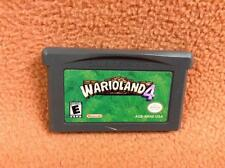 Warioland 4 Wario Land *Authentic* Nintendo Game Boy Advance Super FREE SHIP!