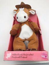 Valentine Animated Musical Friend Dan Dee Horse sings Achy Breaky Heart
