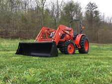 Kioti DK4510 Tractor with Loader, Trailer, Box Blade and Rotary Cutter Package