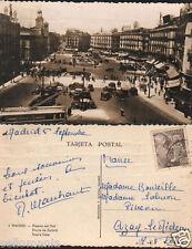 ANTIGUA POSTAL MADRID PUERTA DEL SOL OLD POSTCARD POSTKARTE              CC01057