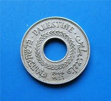 Israel Palestine British Mandate 5 Mils 1946 Coin XF