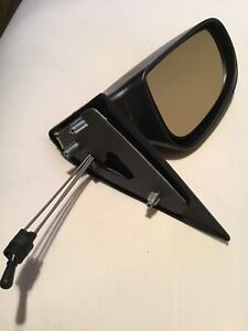 Citroen Saxo 1996-2004 Door Mirror Manual Cable Black N/S Passenger Left