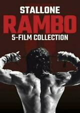 RAMBO 5- FILM DVD COLLECTION  First Last Blood Sylvester Stallone