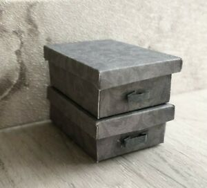 1:12 scale Storage Boxes for dolls house