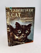 Undercover Cat-The Gordons-SIGNED BY BOTH AUTHORS!!-TRUE First/1st-Darn Cat Film