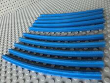 16 Lego 4,5V Eisenbahn TRAIN 151 157 Schiene Gebogene BLAU TRACK STRAIGHT BLUE