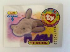 Rare Series 1 Clear - Original 9 Trading Card - Flash - Blue