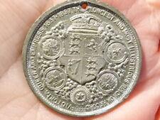 1897 Medal Queen Victoria Diamond Jubilee Longest Reigning Monarch 33mm #Q63