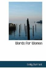 Words For Women: By Emily Durrant
