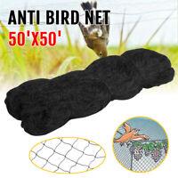 Anti Bird Netting 50' X 50' Garden Soccer Baseball Poultry Avaiary Game Pens Net