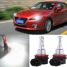Premium H11 H8 H9 LED Headlight Bulbs Kit High Low Beam 70W 8000LM 6000K White