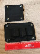Ex Police Set of 2 Tactical Vest Panels. Used. 417.