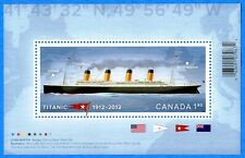 2012 Canada #2535 Historic Titanic Souvenir Stamp Sheet Mint-NH