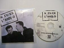 NEVER LANDED On Air EP - 2012 UK CD PROMO in pvc wallet – Rock & Roll - RARE