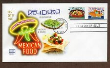 2017 LATIN FOOD ~ GLEN CACHET FIRST DAY COVERS ~ 6  FOREVER STAMPS - 3 COVERS