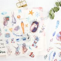6pcs Fairy tale world Adhesive Sticker DIY Decor Diary Stationery Sticker Gift