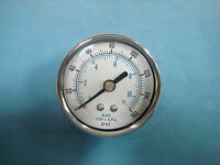 Pressure Gauge With Brass Back 0-160 psi