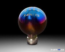 NRG Honda Ball Shift Knob - 6 Speed - Titanium w/ NRG Logo - Part # SK-301TI