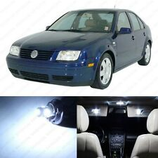 9 x Xenon White LED Interior Light Package For 1999 - 2004 VW Jetta MK4
