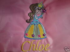 Personalised Princess Backpack/School/PE Drawstring Bag