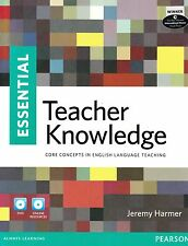 ESSENTIAL TEACHER KNOWLEDGE by JEREMY HARMER Book + DVD with Online Access @NEW@