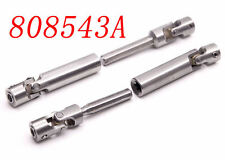 2pcs stainless steel Universal Drive Shaft 100mm-135mm for rc crawler D90 SCX10