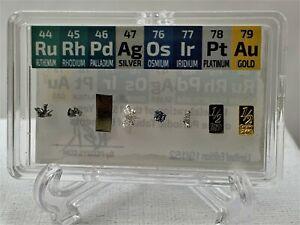 Half Grain Micro PM Set Ruthenium Rhodium Palladium Osmium Iridium Platinum Gold