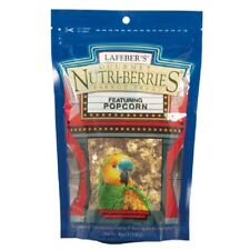 Lafeber's Nutri Berries with Popcorn 4oz Parrot Treat Bird Food Seed Treat