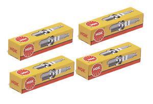 NGK Spark Plugs BKUR6ET-10 x 4 for VOLKSWAGEN GOLF 1998~2009 1.6 litre