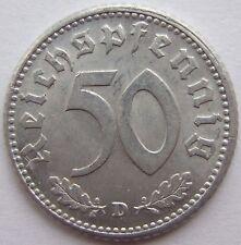 TOP! 50 REICHSPFENNIG 1943 D en EXCELENTE / SIN CIRCULACIÓN