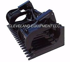 "NEW 84"" EXTREME-DUTY SKELETON / ROCK GRAPPLE ATTACHMENT Skid-Steer Loader Bucket"