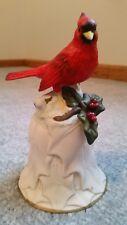 Avon 2000 Christmas Cardinal Bell No Box Excellent Condition