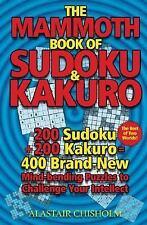 The Mammoth Book of Sudoku & Kakuro-ExLibrary