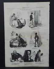 HARPER'S WEEKLY Single Page S2#084 Oct 1873 Seven Ages of Man