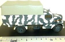 Opel Blitz Wehrmacht Pritschen Camion 1944 Toile Couverts 1:43 Neuf Å UR3