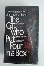 The Cat Who -Four Mysteries by Lilian Jackson Braun - 4 Softcover Books