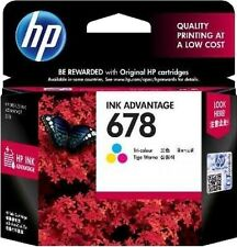 HP 678 Tri-color Original Ink Advantage Cartridge(CZ108AA) with BILL