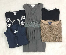 Lot of 5 Ann Taylor LOFT Tops Shirts Blouses Dress Career Casual Gently Used