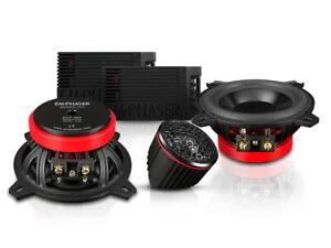 "Emphaser ECP-M5 4 "" 4 IN 2-Wege Car Speaker Component System 70 Rmx"